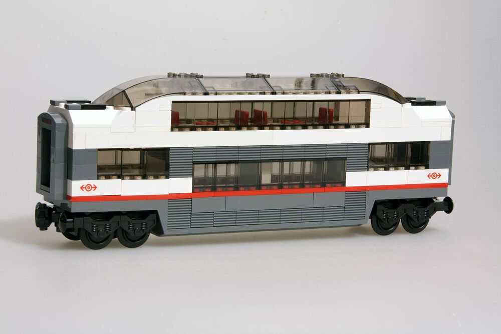 Lego City Passenger Train Railway Middle Carriage NEW 60051 Club Car