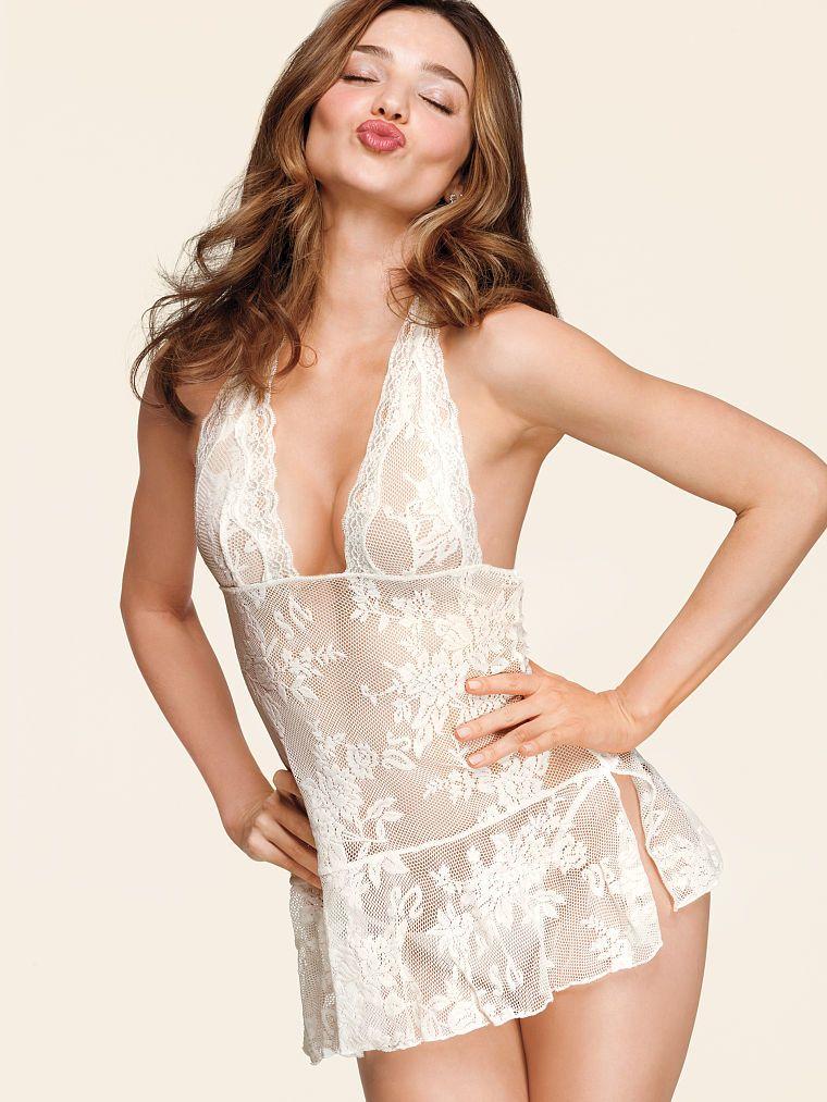 c0b9c2e4a Lace Halter Babydoll - Very Sexy - Victoria s Secret - Miranda Kerr ...