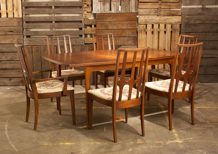 AMAZING   Broyhill Brasilia Premier Dining Room Set. $900.00, Via Etsy.