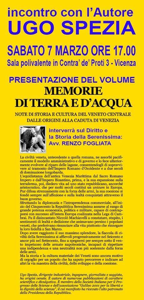 L'INDIPENDENZA DI SAN MARCO: MEMORIE DI TERRA E DI ACQUA, EVENTO SU FACEBOOK A ...