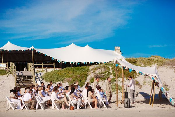 Vintage Cape Town Beach Wedding African Destination Venue Via