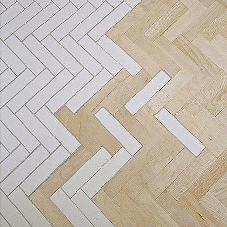 transicion entre pavimentos de madera y cerámica   Project 1 ...