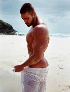man Ass beach