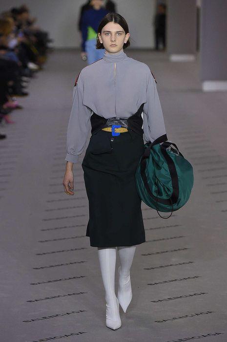Balenciaga, Herbst/Winter 2017, Paris, Womenswear