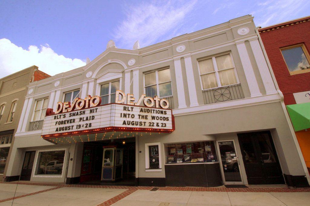 DeSoto Theater Rome, GA interiors, Building