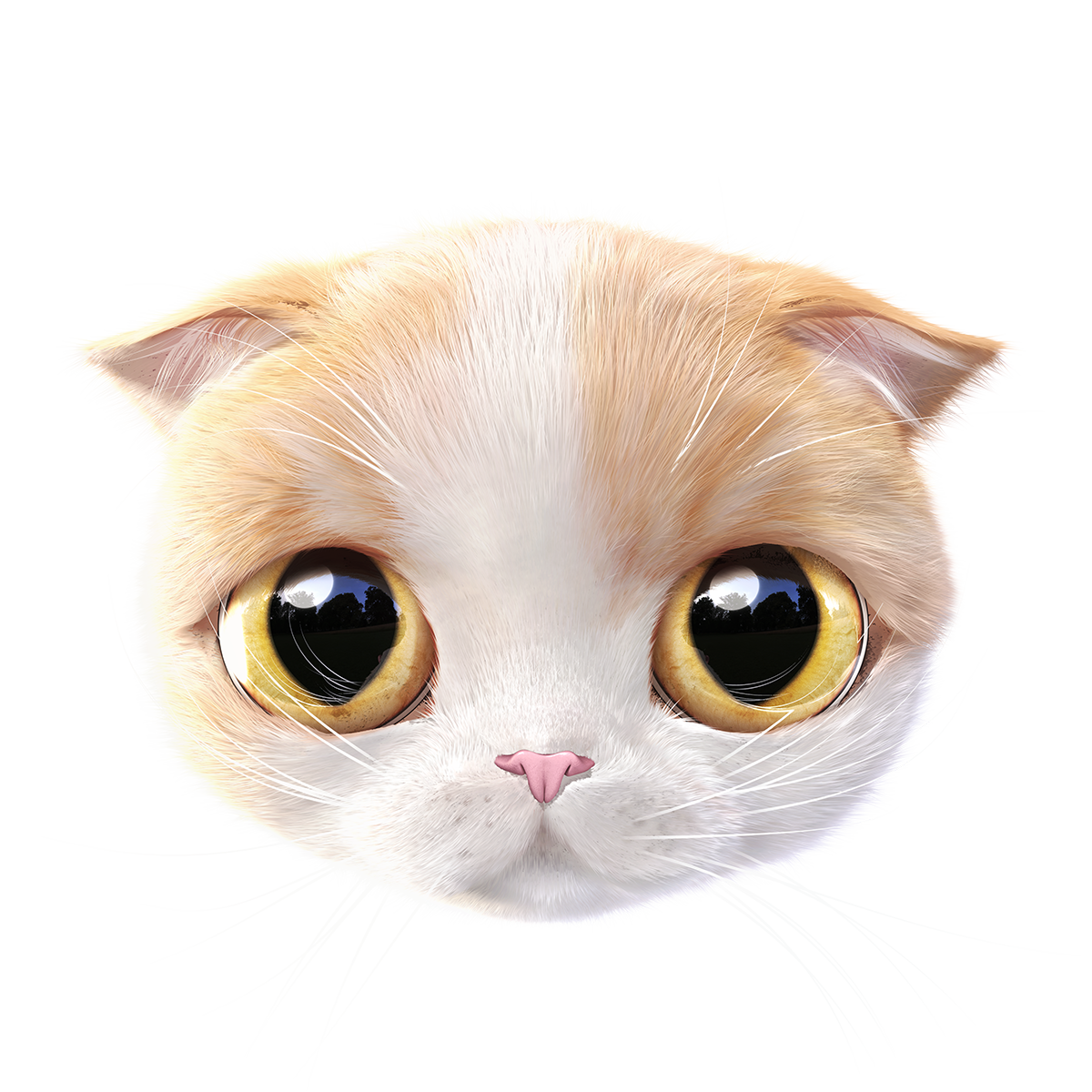 Think About The Cat On Behance Cats Group Of Cats Dog Art