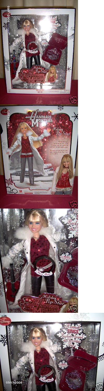 Hannah Montana 158763 Hannah Montana Holiday Doll With