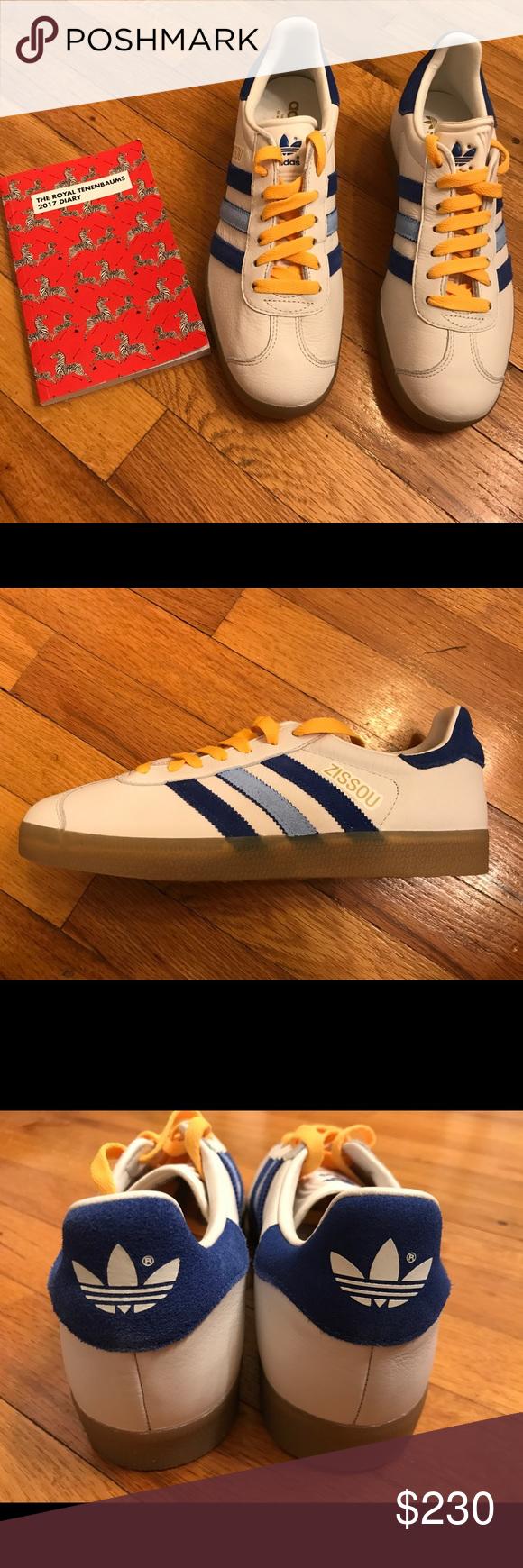 la vita acquatica del team zissou adidas gazzella scarpe nwt adidas