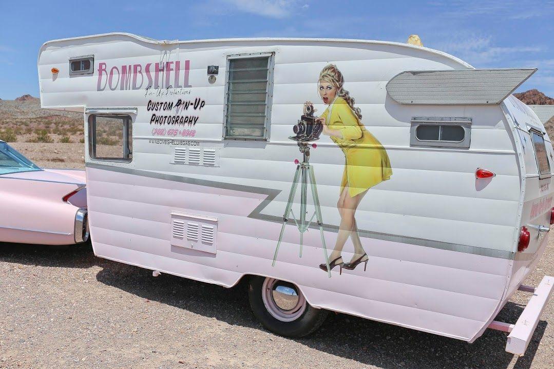 1961 Shasta Mobile Salon Business Camper For Sale