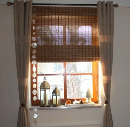 Wohnzimmer u0027Wohnzimmer mit neuen Gardinen u0027 Gardinen \/ Fenster - wohnzimmer gardinen landhausstil