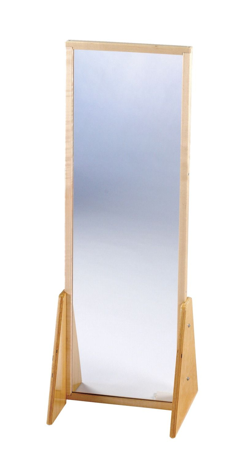 Childcraft 2 Position Acrylic Mirror Small 13 1 4 W X 11 3 4 D X 36 1 2 H In Acrylic Mirror Mirror Wall Mounted Mirror