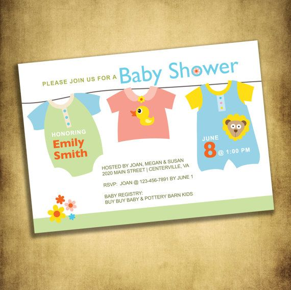 Check out this item in my Etsy shop https://www.etsy.com/listing/190483959/baby-shower-invitation-digital-file-5-x