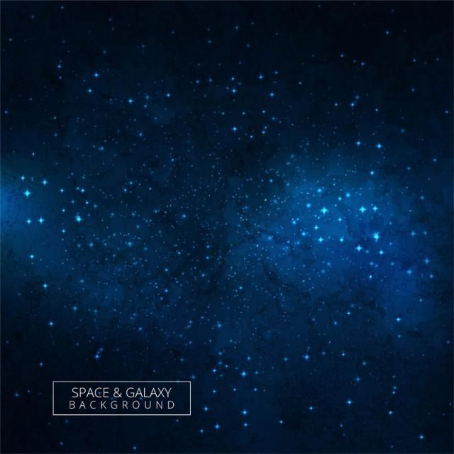Cosmic Galaxy Blue Background With Nebula Stardust And Bright Shining Stars Design Galaxy Clipart Abstract Card Png And Vector With Transparent Background Fo Wallpaper Space Star Designs Galaxy Wallpaper