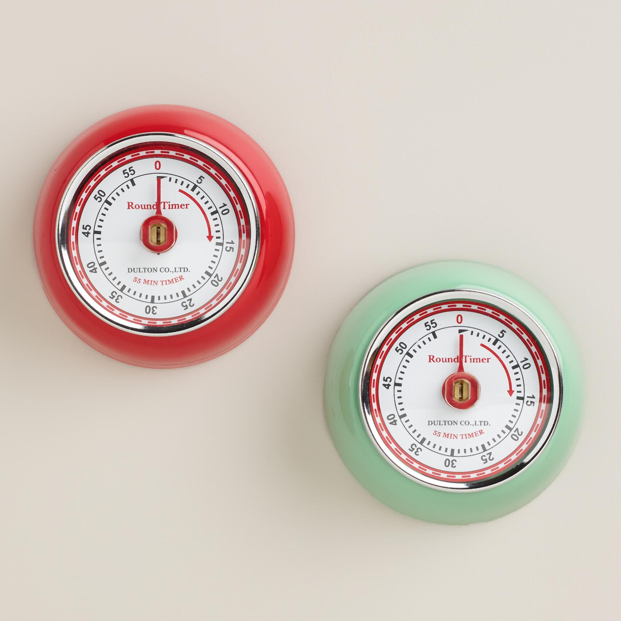 Our Retro Magnetic Timer Sticks To Any Metal Surface At Any Angle