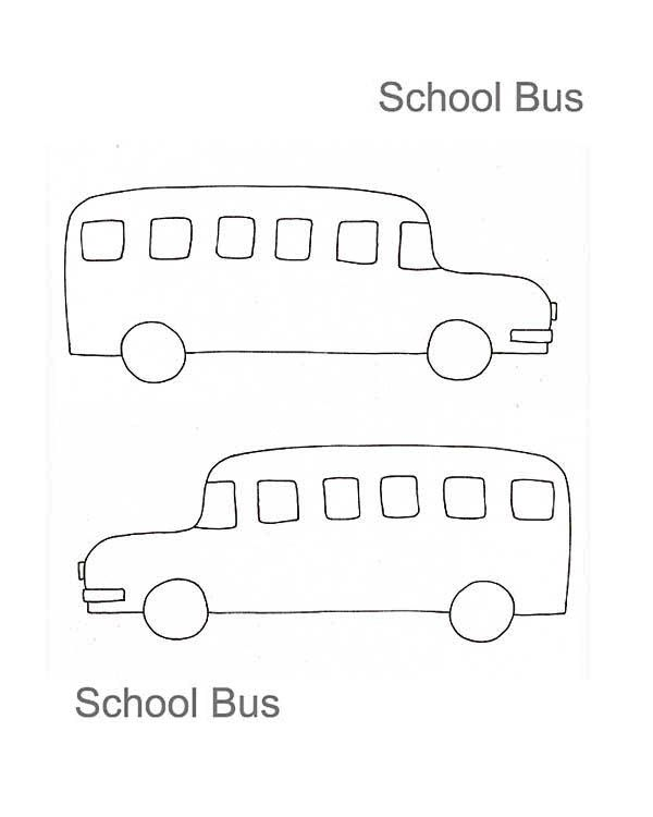 Bus Drawing For Kids Images Pictures Becuo Drawing For Kids