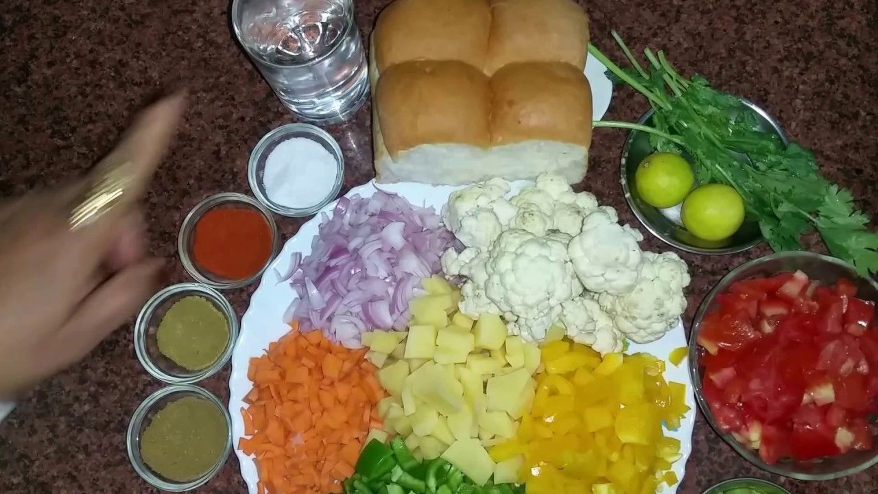 Pav bhaji recipe video in hindi youtube geeta pinterest pav food pav bhaji recipe video in hindi forumfinder Images
