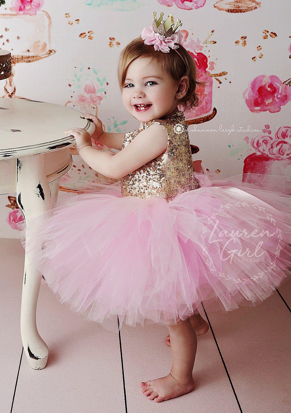 Pink Princess Custom Birthday Dress – LaurenHeleneCouture