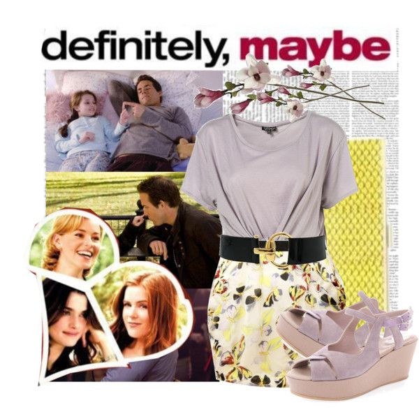 12.Definitely, Maybe by italian-londonlover on Polyvore featuring Dune and B-Low the Belt