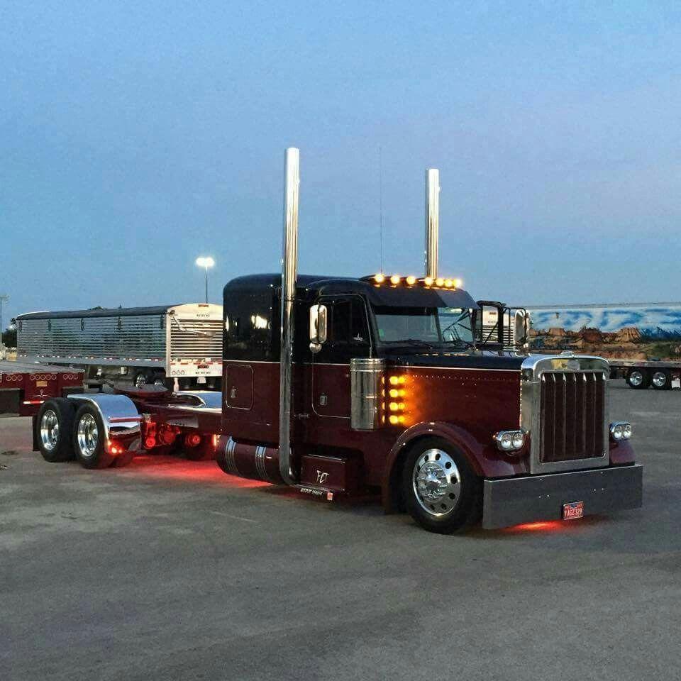 Beautiful pete 379 big trucks big rig trucks peterbilt