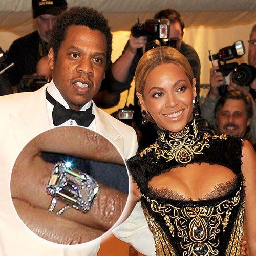 Beyonce Knowles And Jay-Z Designer: Lorraine Schwartz
