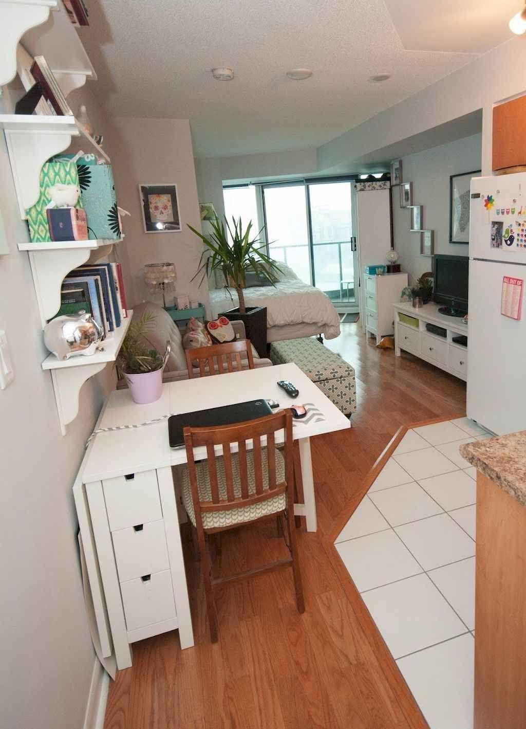 60 Studio Apartment Decorating Ideas on A Budget - DoMakeover.com