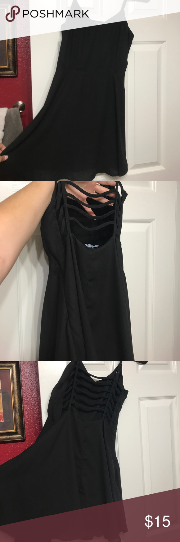 Little black dress Darling black dress never worn and just need space in closet. Open to reasonable offers ANGL Dresses Mini