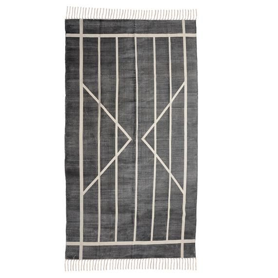 Handmade Block printed Indian Rug / Rug runner / Carpet / | Etsy