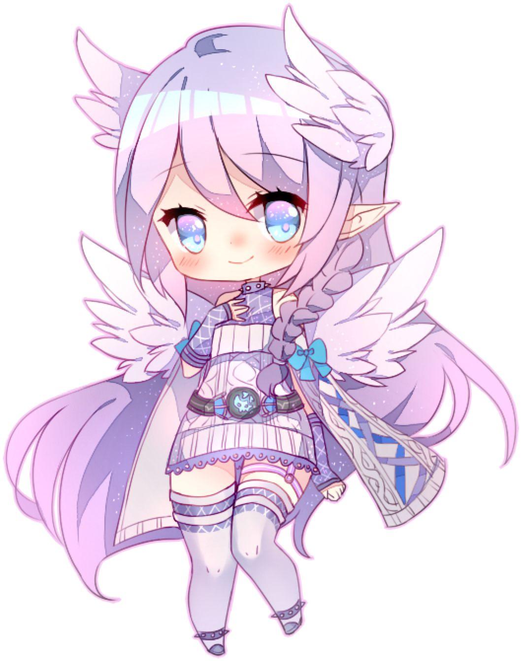 angel by shouukun on DeviantArt Cute anime chibi
