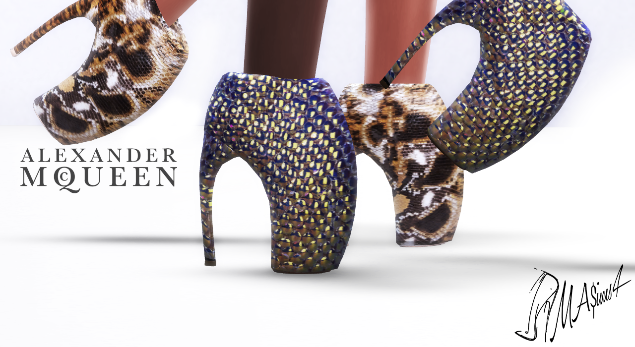 f767c18958d8 MA ims4  Alexander McQueen Armadillo Shoes