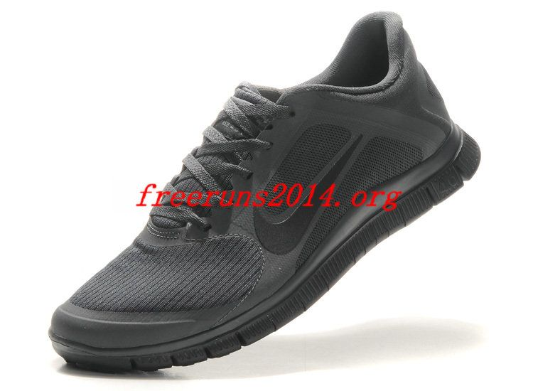 a214b9b022a82 468464 Anthracite Black Nike Free 4.0 V3 Mens Running Shoes