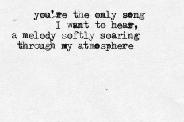 Typewritten Lyric Quotes Favorite Lyrics Death Cab For Cutie