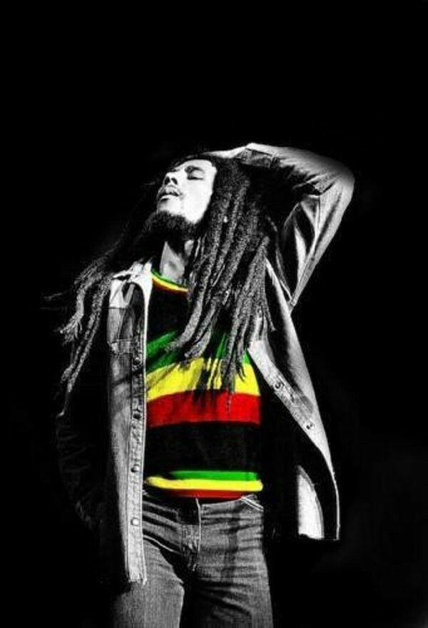 Strike a pose, Bob Marley