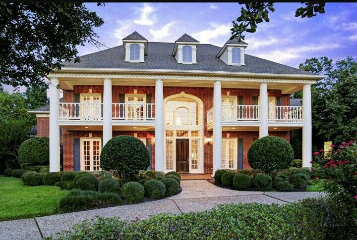 Pin By Cathy Cundiff On My Style French Doors Exterior House Columns Colonial House