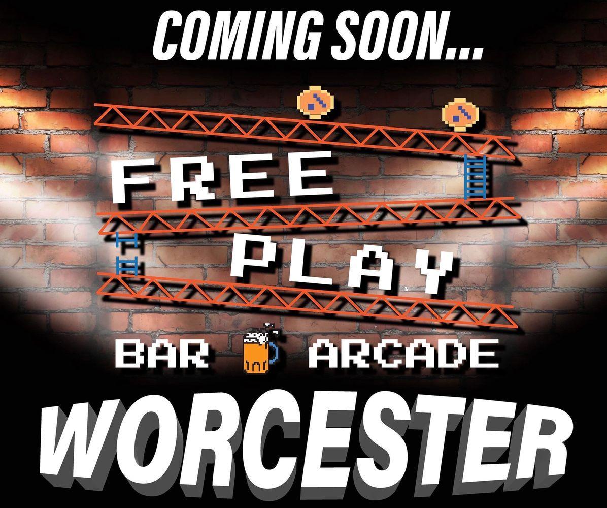 Arcade games pinball craft beer free play bar arcade