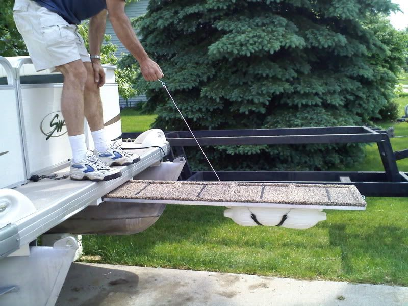 Pin by Brewster Cheimet on pontoon ladders | Pontoon boat