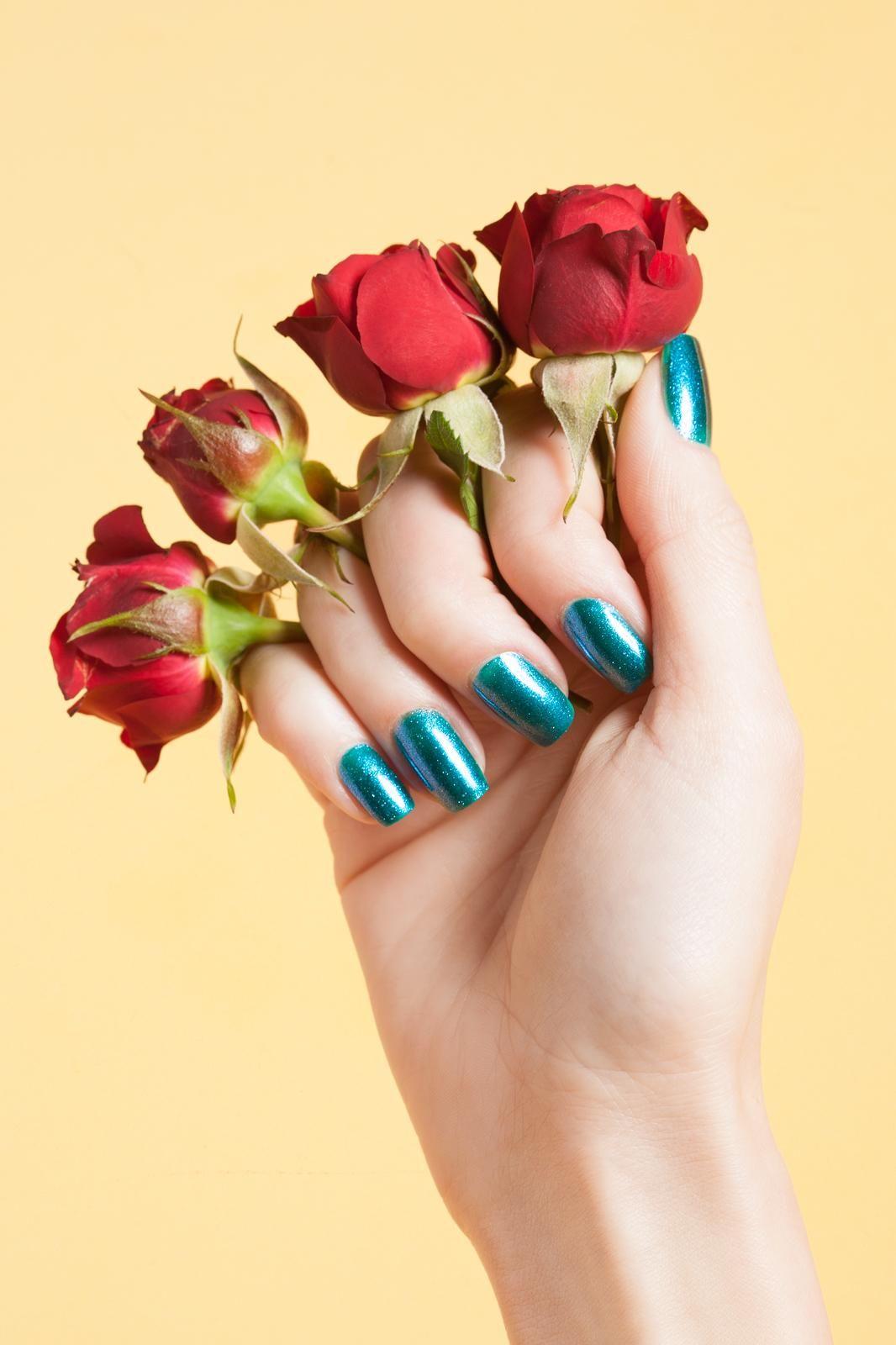 13 spring nail looks to snag! | Nail Art | Pinterest | Spring nails ...