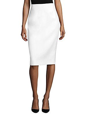 a1f94d2c39 Michael Kors Collection Double Crepe Skirt | Michael Kors | Skirts ...