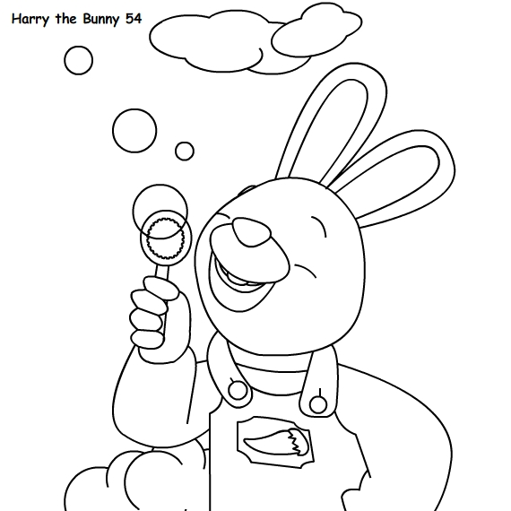 Harry The Bunny Coloring Pages Bunny Coloring Pages Harry The Bunny Coloring Pages