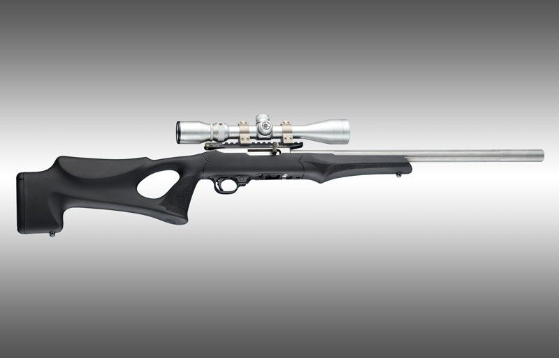 Ruger 1022 Target Lite Thumbhole Im Kaliber 22lr: Hogue Releases OverMolded Tactical Thumbhole Stock For