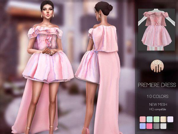 busra-tr Sims — busra-tr's Premiere Dress BD104