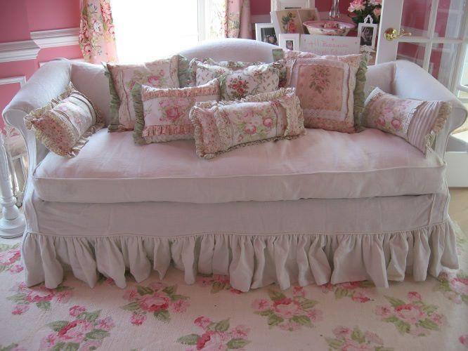 Slip cover avec images decoration chaise boutique Rideaux style cottage
