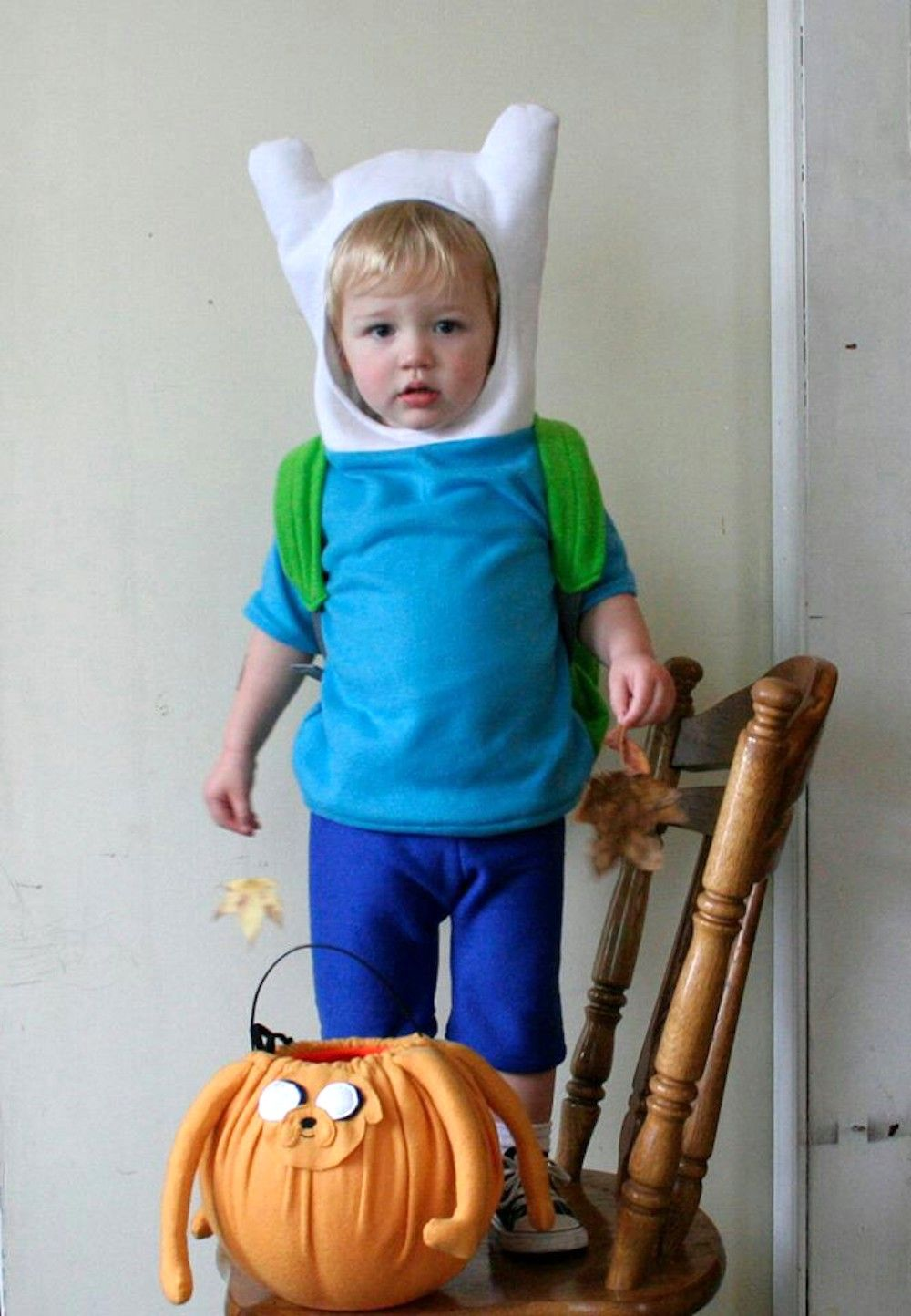 Geeky Halloween costumes for kids Finn the Human from Adventure Time  sc 1 st  Pinterest & 11 geeky Halloween costumes for kids. Parenting done right ...