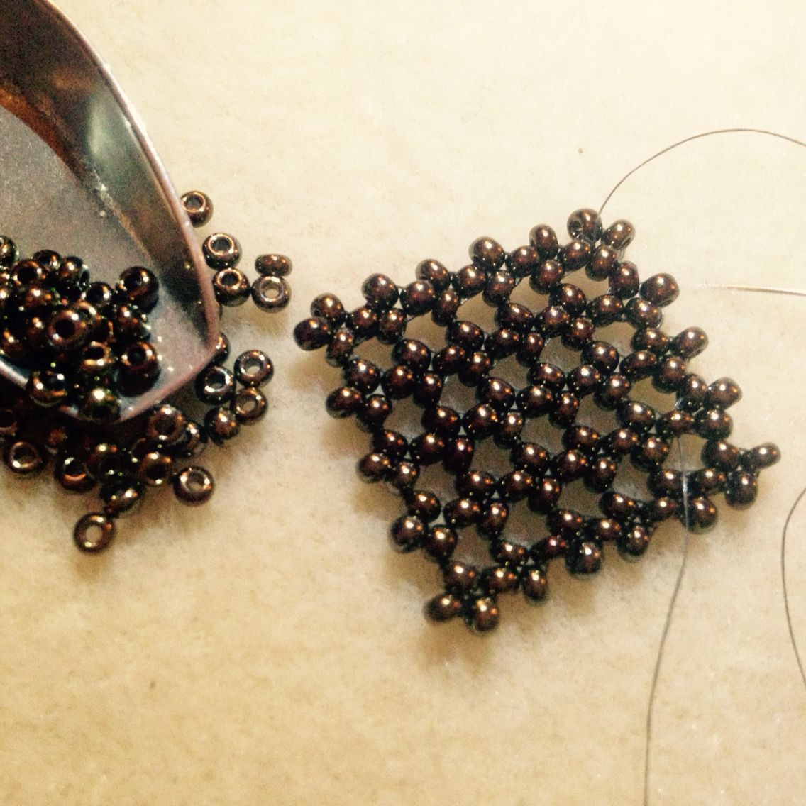 Hubble stitch | miçangas bijus | Pinterest | Perlen, Schmuck und Muster