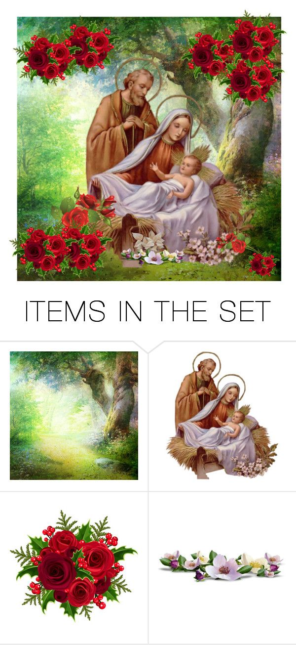 """""""God Bless"""" by ludya ❤ liked on Polyvore featuring art and jessusborn"""