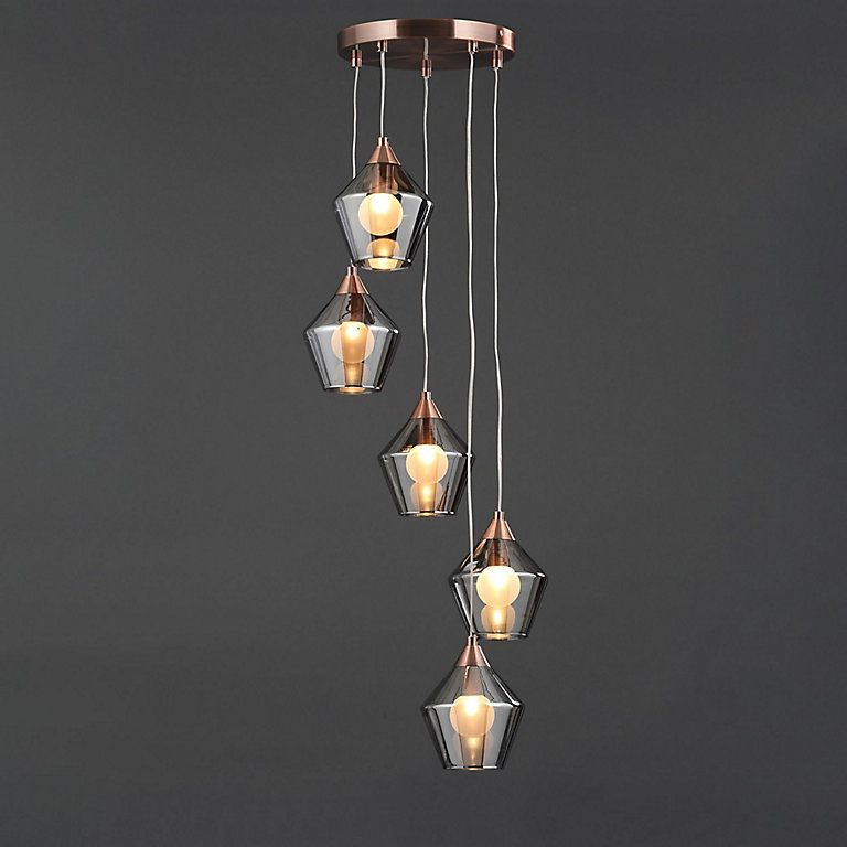 Leah Copper Effect 5 Lamp Pendant Ceiling Light Diy At B Q In 2020 With Images Ceiling Lights Diy Ceiling Lights Ceiling Pendant Lights