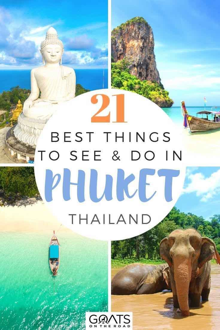 Looking for the best things to do in Phuket, Thailand? We've got the ultimate list of bucket lists activities! Whether you want to visit Big Buddha, relax at some beautiful beaches, or explore nearby waterfalls, we've got the tips and ideas to help you plan your Southern Asia itinerary. | #phuket #Thailand #southeastasia