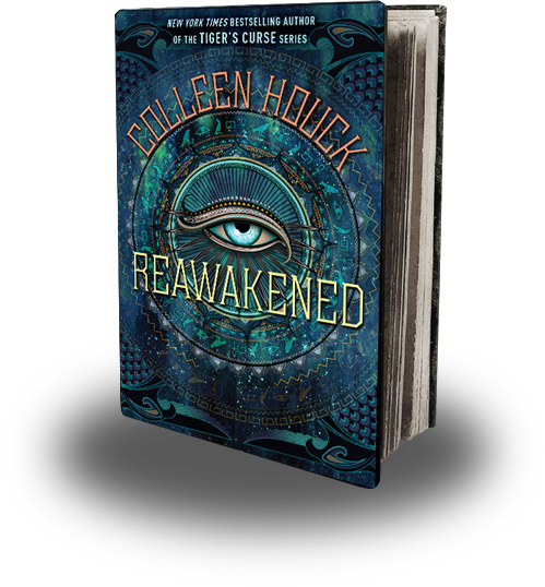 Young adult books · Colleen Houck's Blog: REAWAKENED Book Trailer Reveal,  an Interview, PLUS Contest!