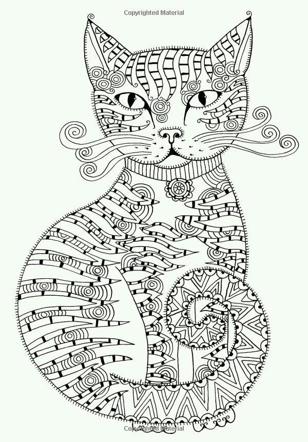 Pin de Valeria Avilés en Páginas para colorear | Pinterest | Gato ...