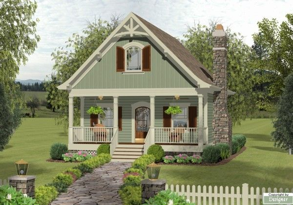 This 2 Story Cottage Features 1137 Sq Feet Call Us At 866 214 2242 To Talk To A House Plan Craftsman Style House Plans Small Cottage House Plans Cottage Plan