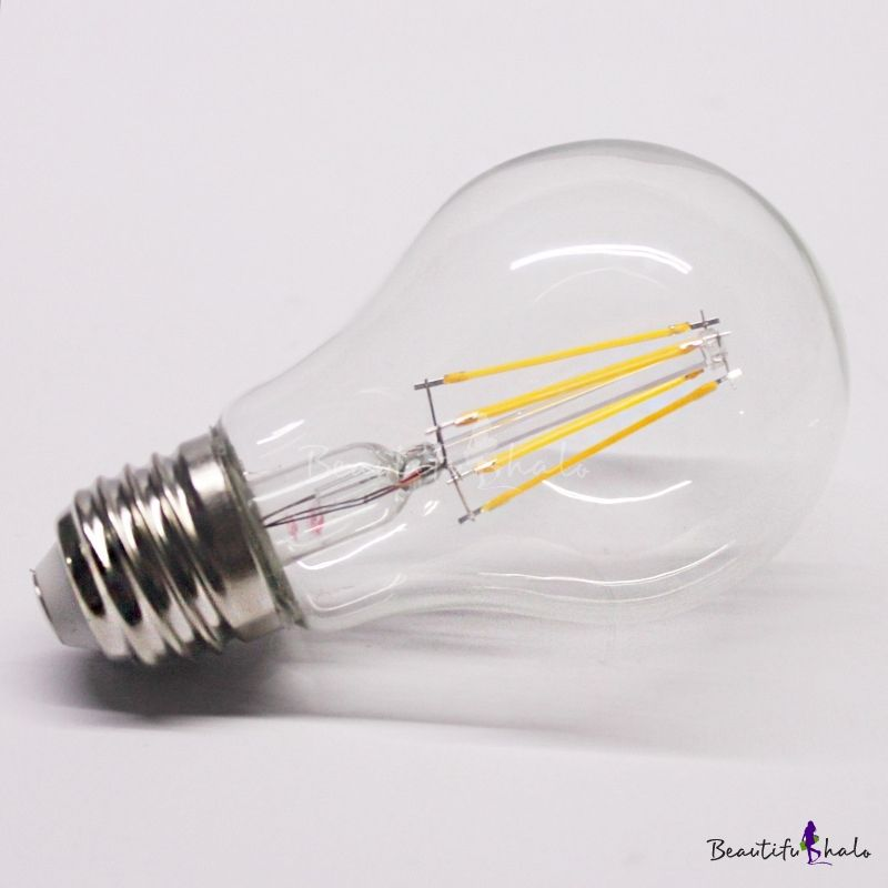 Yellow Light Led Edison Bulb E27 4w Candle Led Lights Bulb Led Bulb